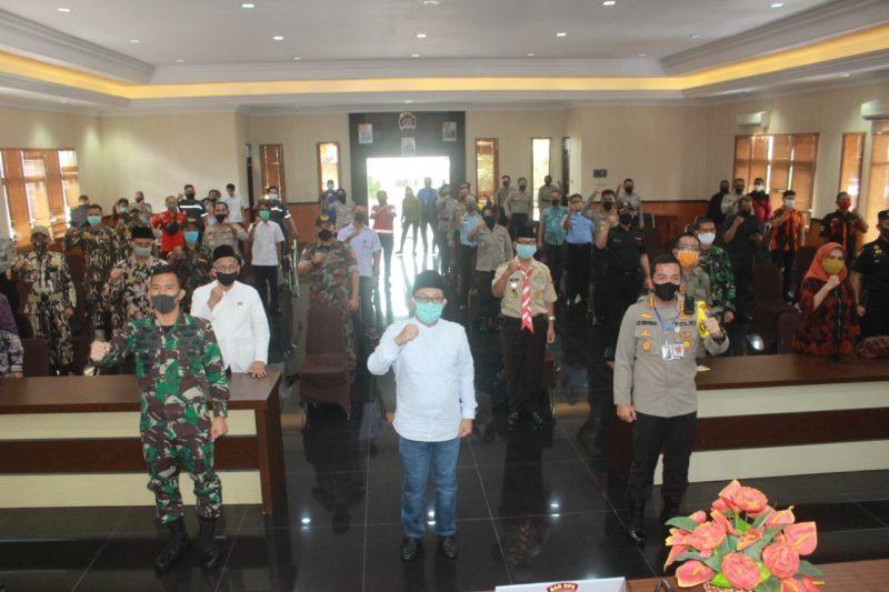 Pelaksanaan Operasi Ketupat Semeru 2020 di Polresta Malang Kota Siap Didukung Penuh Kodim 0833 Kota Malang