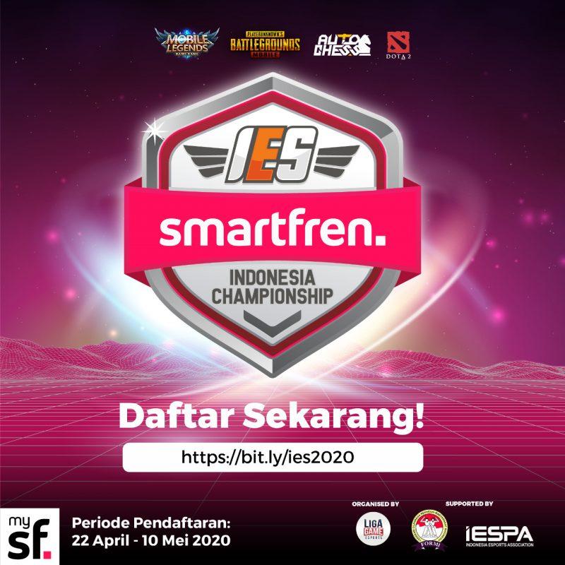 Usir Kebosanan di Rumah, Smartfren Gelar Kejuaraan E-Sport Nasional dengan Total Hadiah 500 Juta Rupiah