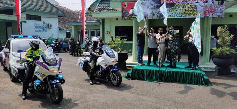 Ribuan Sumbangan Paket Sembako Siap Dibagikan Kodim 0833 Kota Malang