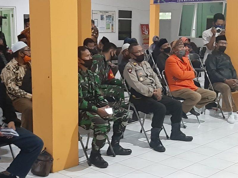 Danramil Sukun Ikuti Sosialisasi PSBB di Kota Malang