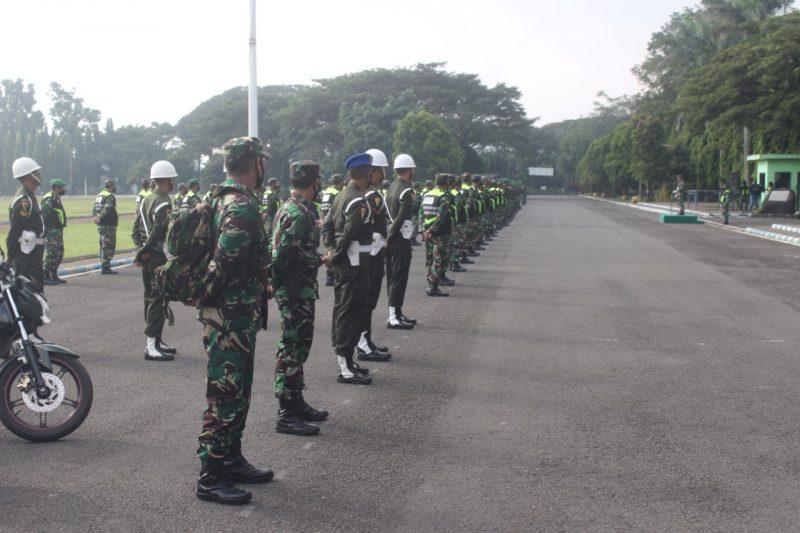 Dandim 0833 Kota Malang Siap Memperbantukan TNI dalam Pengamanan PSBB di Kota Malang