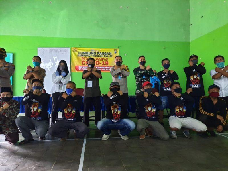 Kapolres Malang Kota Bersama Dandim 0833 Kunjungi 2 Kampung Tangguh