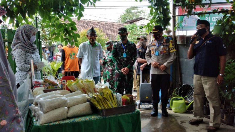 Kapolresta Malang Kota bersama Dandim 0833 Kota Malang Mengunjungi Glintung Water Street