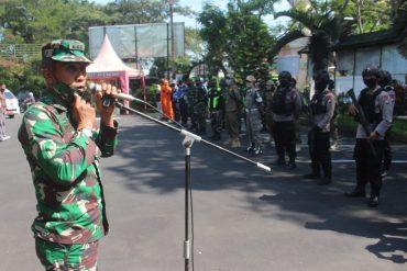 Personil TNI Polri dan Satpol PP Harus Tegas saat Patroli Gabungan Jelang Masa New Normal