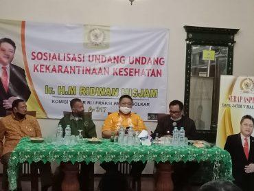 Ridwan Hisjam Lakukan Dialog Bersama PEPABRI Purnawirawan TNI-POLRI serta LVRI/Veteran di RH Center