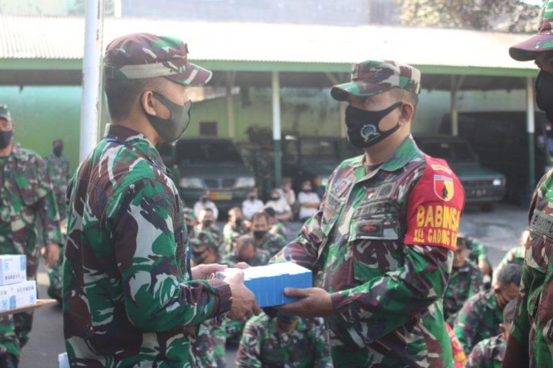 Babinsa Garda Terdepan Jajaran Kodim 0833 Mendapat Vitamin dari Dandim 0833 Kota Malang