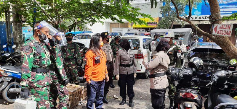 Banyak Masyarakat Belum Gunakan Masker, saat Patroli Gabungan ke Pasar Tradisional