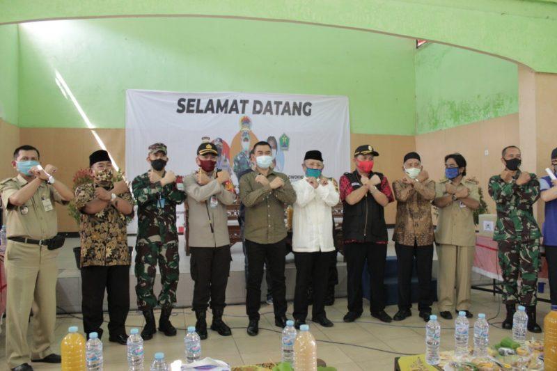 Dandim 0833 Kota Malang Bersama Kapolresta Malang Kota Resmikan Satgas Covid-19 dan RW Tangguh RW.02 Kelurahan Ketawanggede