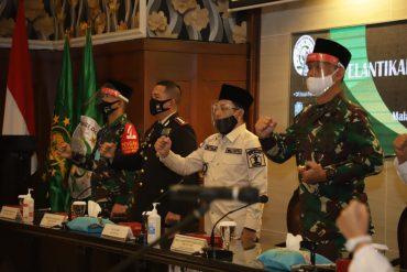 Kodim 0833 Kota Malang Siap Berkolaborasi Dengan ADN, Menjaga dan Mengawal NKRI