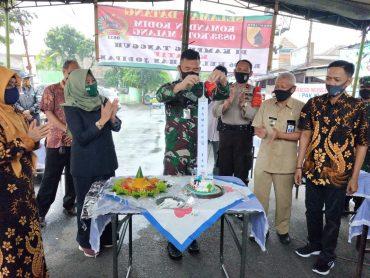Dandim 0833 Kota Malang Hadir Langsung Resmikan Kampung Tangguh Kreatif Jodipan Wetan