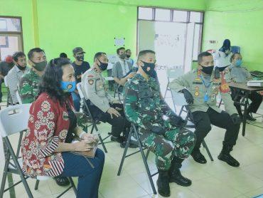 Kapolresta Malang Kota Bersama Dandim 0833 Kota Malang Pantau Persiapan PSBB Lanjutan