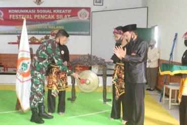 Kodim 0833 Kota Malang Lestarikan Budaya Pencak Silat