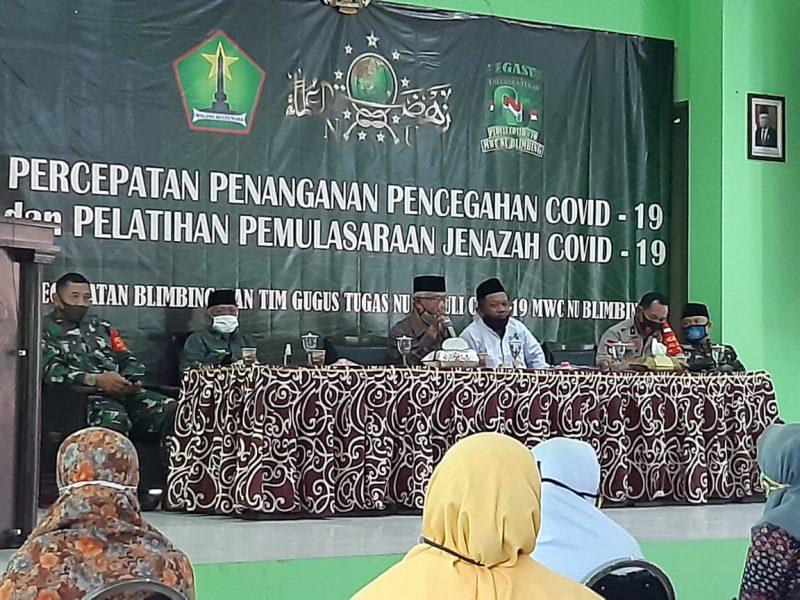 Personil Kodim 0833 Kota Malang Ikuti Latihan Pemulasaraan Jenazah Covid 19