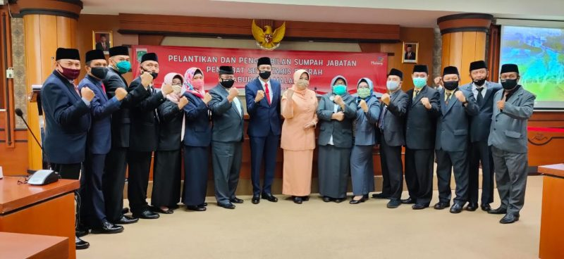 Dr. Wahyu Hidayat Alumnus PWK ITN Malang Resmi Menjabat Sekda Kabupaten Malang
