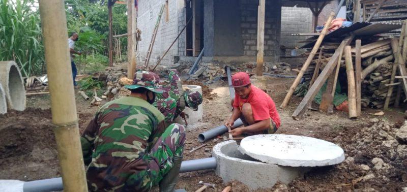 TMMD 106 Berikan Bantuan Pembangunan Fisik dan Non Fisik