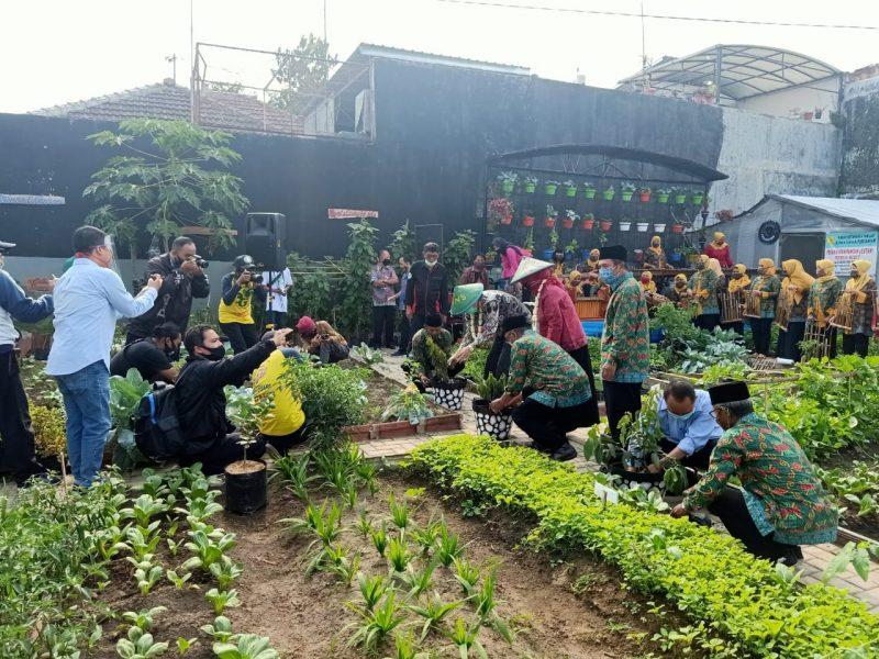 Kampung Wonosari Go Green diresmikan Wakil Kepala Badan Pembinaan Ideologi Pancasila (BPIP)