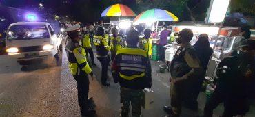 Malam Minggu Personil Kodim 0833 Kota Malang Tetap Gelar Patroli Gabungan