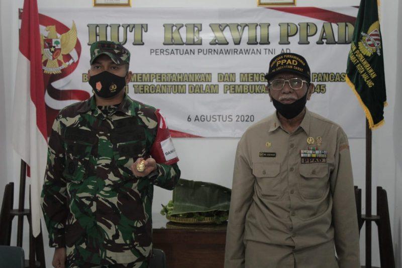 Dandim 0833 Kota Malang Hadiri Acara Tasyakuran HUT Ke XVII PPAD Kota Malang