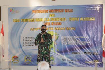 Dandim 0833 Berharap Perekonomian di Kota Malang Segera Membaik