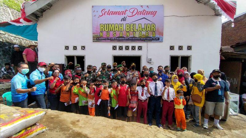 Danpoltekad Resmikan Rumah Belajar Nusantara di Kota Malang