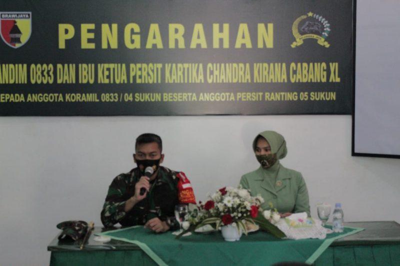 Dandim 0833 Kota Malang Kunjungi Koramil 0833/04 Sukun