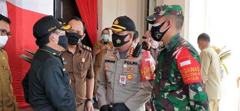 Dandim 0833 Kota Malang dan Kapolresta Malang Kota Siap Kawal Instruksi Presiden