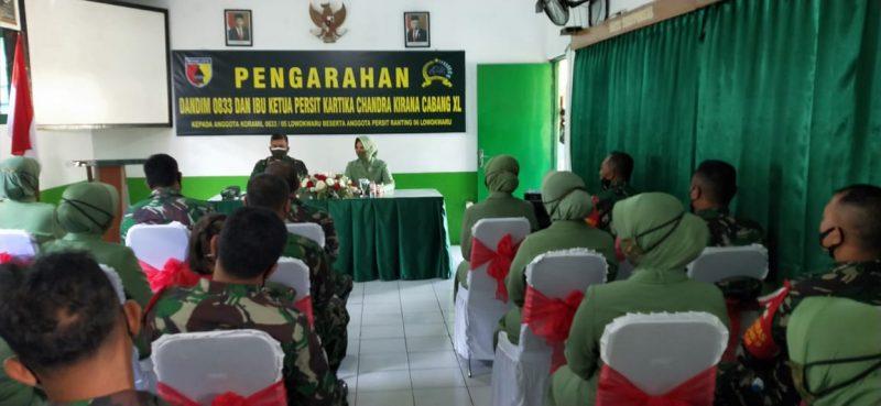Dandim 0833 Datangi Koramil Lowokwaru Kota Malang