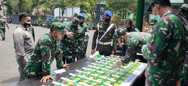 Kodim 0833 Kota Malang Gelar P4GN Guna Perangi Narkoba