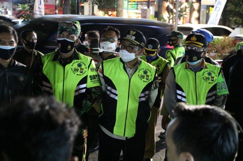 Banyak Ditemukan Masyarakat Kota Malang Melakukan Pelanggaran Tidak Menggunakan Masker