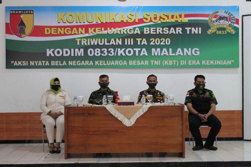 Kodim 0833 Kota Malang Ajak Seluruh Keluarga Besar TNI Untuk Bela Negara