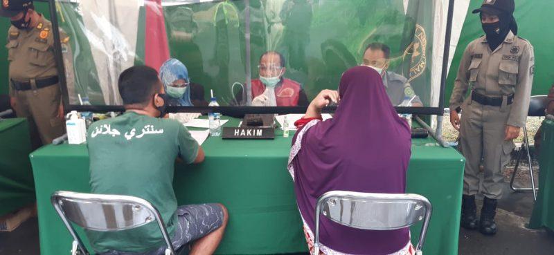 Personel Kodim 0833 Kota Malang Kembali Melaksanakan Operasi Yustisi