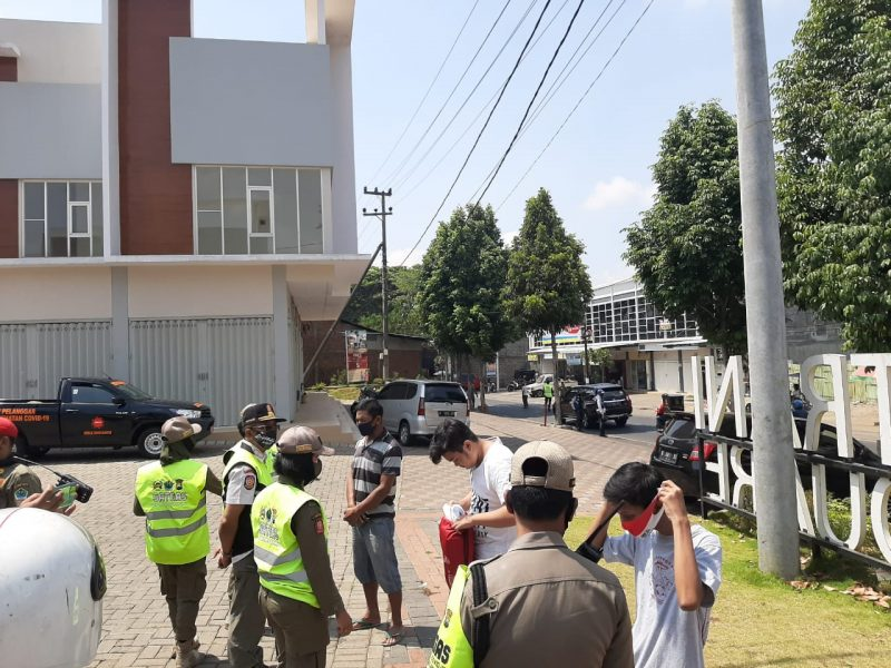 Kodim 0833 Kota Malang, Polresta Malang Kota Serta Satpol PP Sinergi Operasi Yustisi