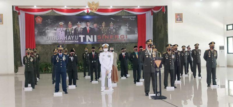Peringatan HUT TNI ke-75 di Malang Raya Digelar Secara Virtual