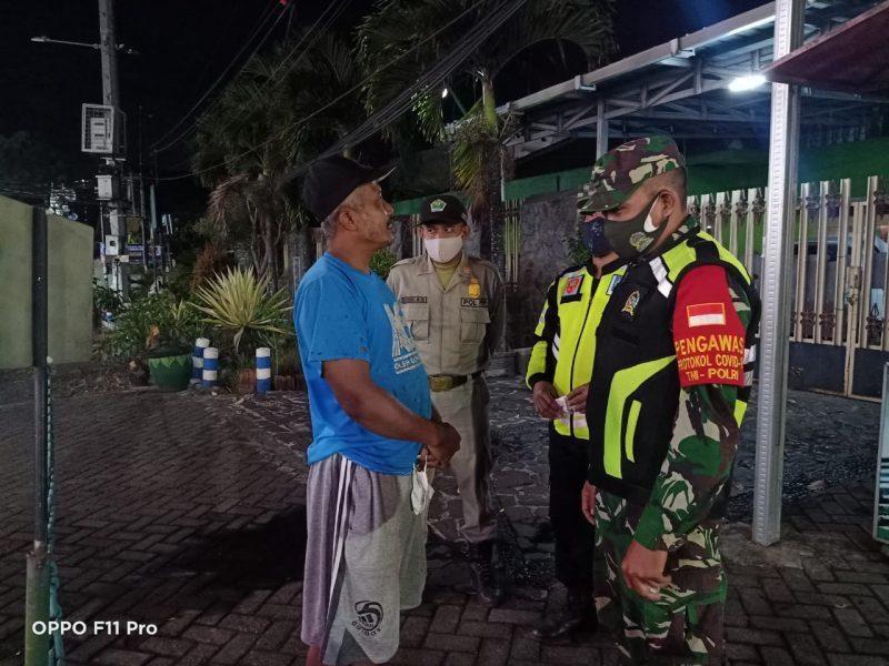 Masih Banyak Pelanggaran Tidak Mengenakan Masker di Kecamatan Lowokwaru Kota Malang