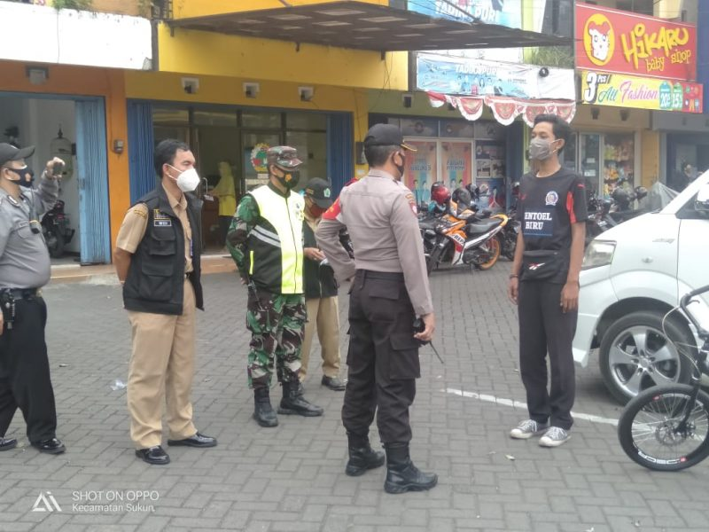 Kodim 0833 Kota Malang Gelar Operasi Yustisi
