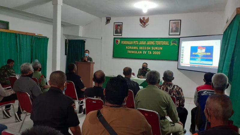 Koramil 0833/04 Sukun Kota Malang Waspadai Informasi Menyesatkan Terkait Undang Undang Cipta Kerja