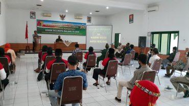Perkokoh Persatuan dan Kesatuan, Kodim 0833 Kota Malang Gelar Komsos