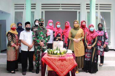 Dandim 0833/Kota Malang Resmikan Mushola dan Kantin Kartika di SMK KARTIKA IV-1 Kota Malang