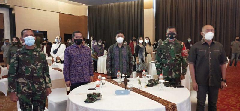 Dandim 0833 Kota Malang Hadiri acara penganugerahan pemenang lomba Video Protokol Kesehatan & Desain Masker