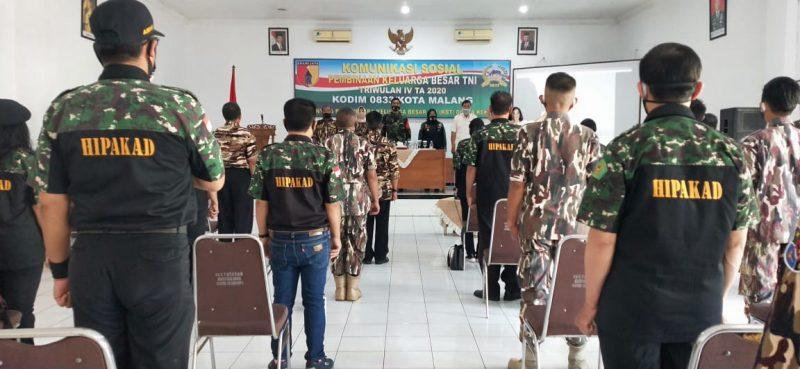 Kasdim 0833 Kota Malang Ajak KBT Menjaga Kondusifitas Kota Malang