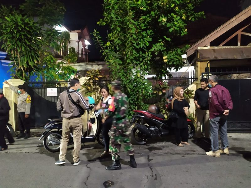 TNI-POLRI Bersama Relawan Gelar Operasi Yustisi Penegakan Disiplin dan Penertiban