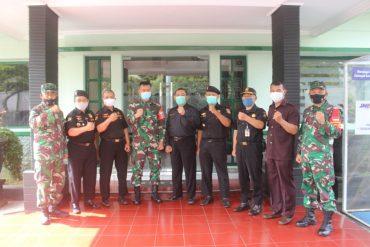 Senkom Mitra Polri Kota Malang Datangi Kodim 0833 Kota Malang