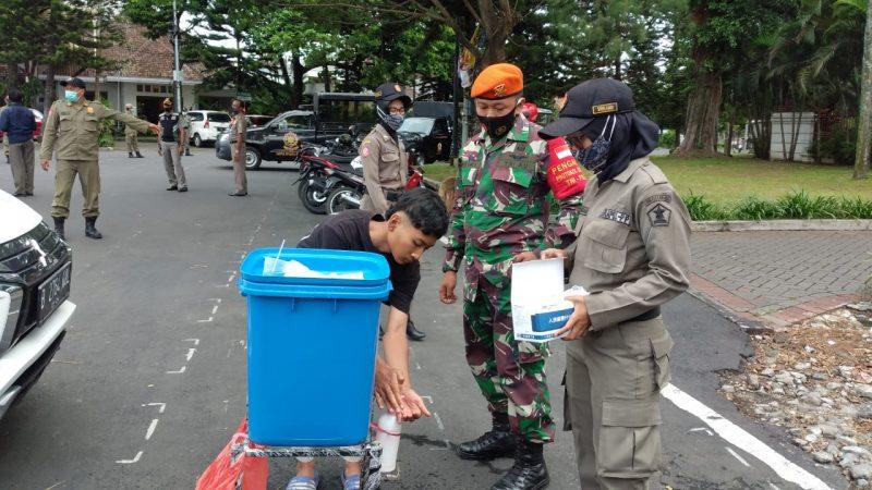 78 Pengendara Kendaraan Bermotor Terjaring Operasi Yustisi Tidak Mengenakan Masker