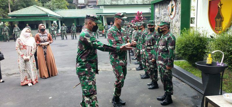 Danrem 083/Bdj Beserta Ibu Lakukan Kunjungan Kerja Ke Kodim 0833 Kota Malang