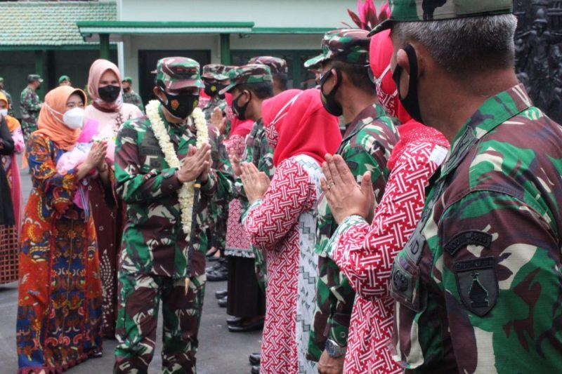 Pangdam V / Brawijaya Lakukan Kunjungan ke Kodim 0833/Kota Malang