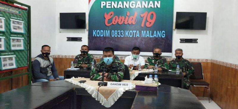 Bangun Sinergitas, Pengurus PWI Malang Raya Audiensi Bersama Dandim 0833 Kota Malang