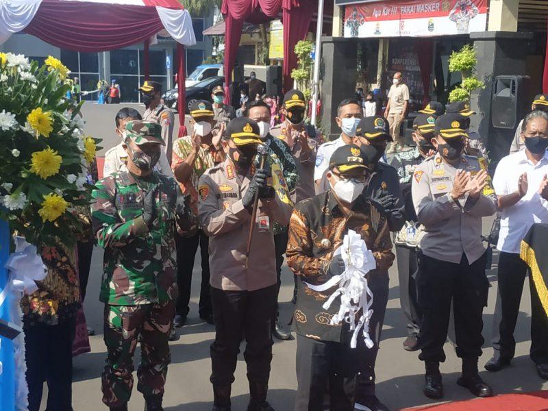 Dandim 0833 Kota Malang Apresiasi Terobosan Kapolresta Malang Kota Luncurkan Bus Arema Police