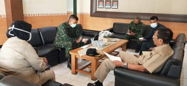 Dandim 0833 Terima Kunjungan Silaturahmi PPAD Kota Malang