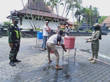 Puluhan Orang Terjaring Razia Masker Dalam Operasi Yustisi di Kota Malang