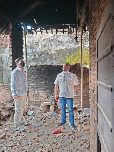 Pimpinan DPRD Kota Malang dan Kota Batu Fraksi Gerindra Konsolidasi Penanganan Bencana Gempa Bumi